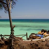 Unguja Lodge Landscape beach Zanzibar