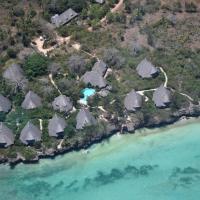Unguja Lodge Zanzibar aerial view