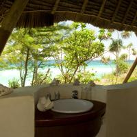 Unguja lodge bathroom view